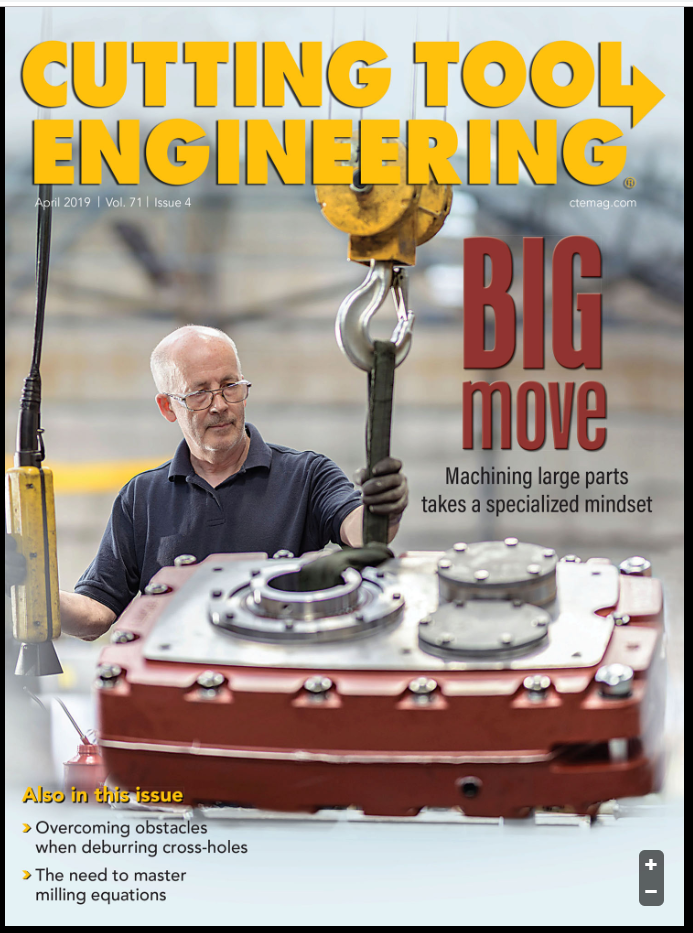 Cutting Tool Engineering Cover