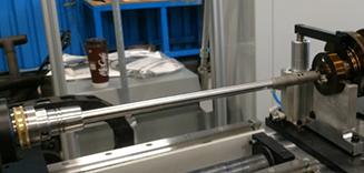 HEULE Cofa tool deburring a crankshaft