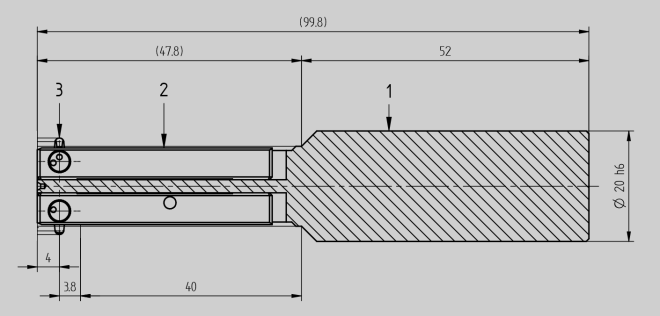 drawing of a COFA tool