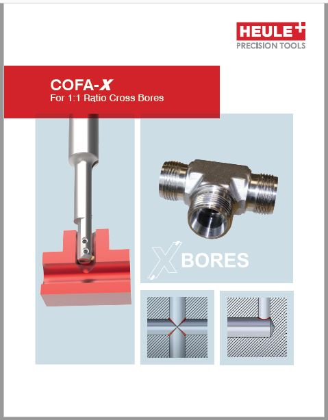 cross hole deburring tool