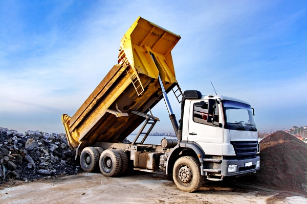 Picture of a dump truck