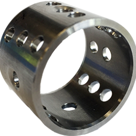 Bearing bushing part deburring application in the automotive industry