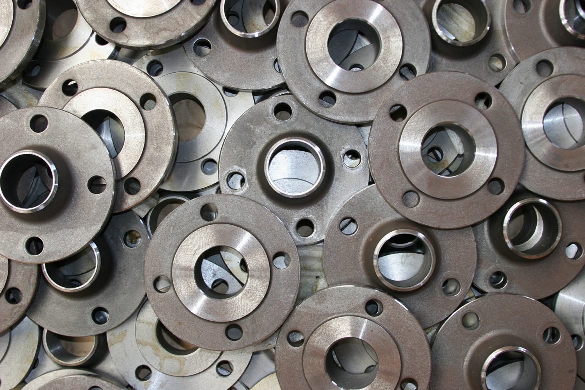 flanges, precision machining, deburring tool
