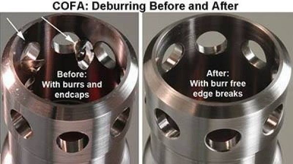 Cross Bore Deburring Cofa