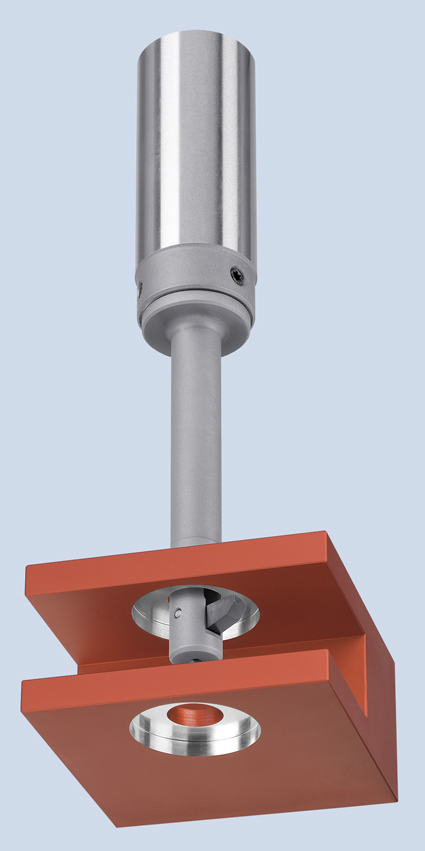 Picture of the BSF tool for back spotfacing and back counterboring in metal