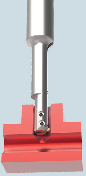 COFA-X cross hole deburring tool