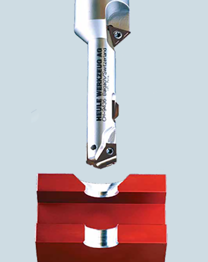 Combination drilling and chamfering tool