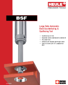 BSF back spotfacing tool catalog