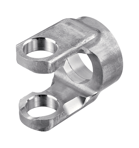 Picture of a part finished with a deburring and chamfering tool for metal