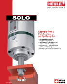 SOLO Spotfacing/Counterboring Tool catalog